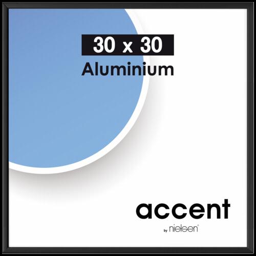 Accent 30x30 schwarz