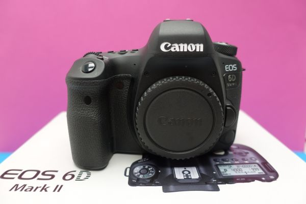 Canon eos 6 d mark ii body demogerät professionell geprüft mit