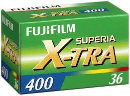 New Superia X-Tra 400 135-36