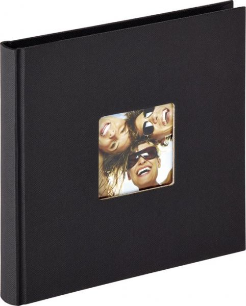 Fun Buchalbum 18x18 grau