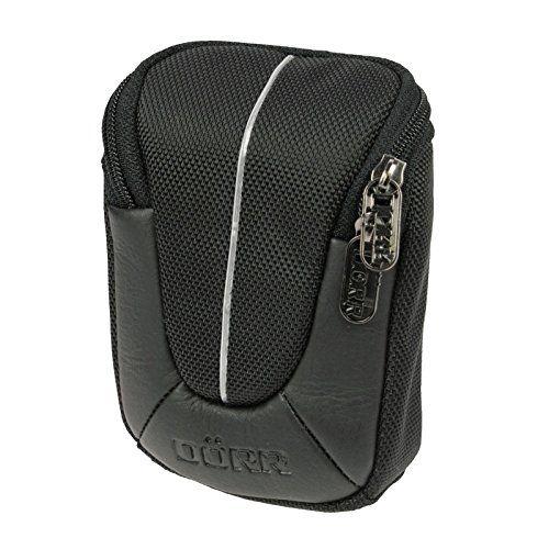 Yuma S Kameratasche schwarz/silber