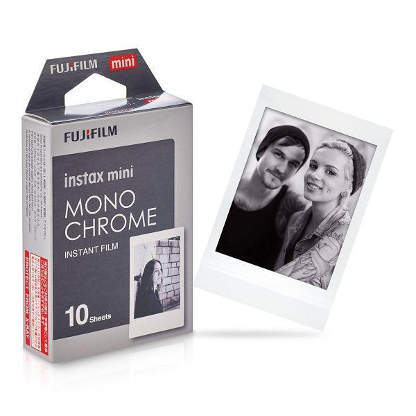Instant monochrome Film