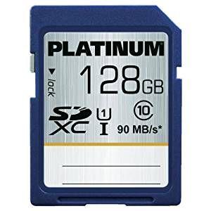 SDXC UHS-I 128 GB