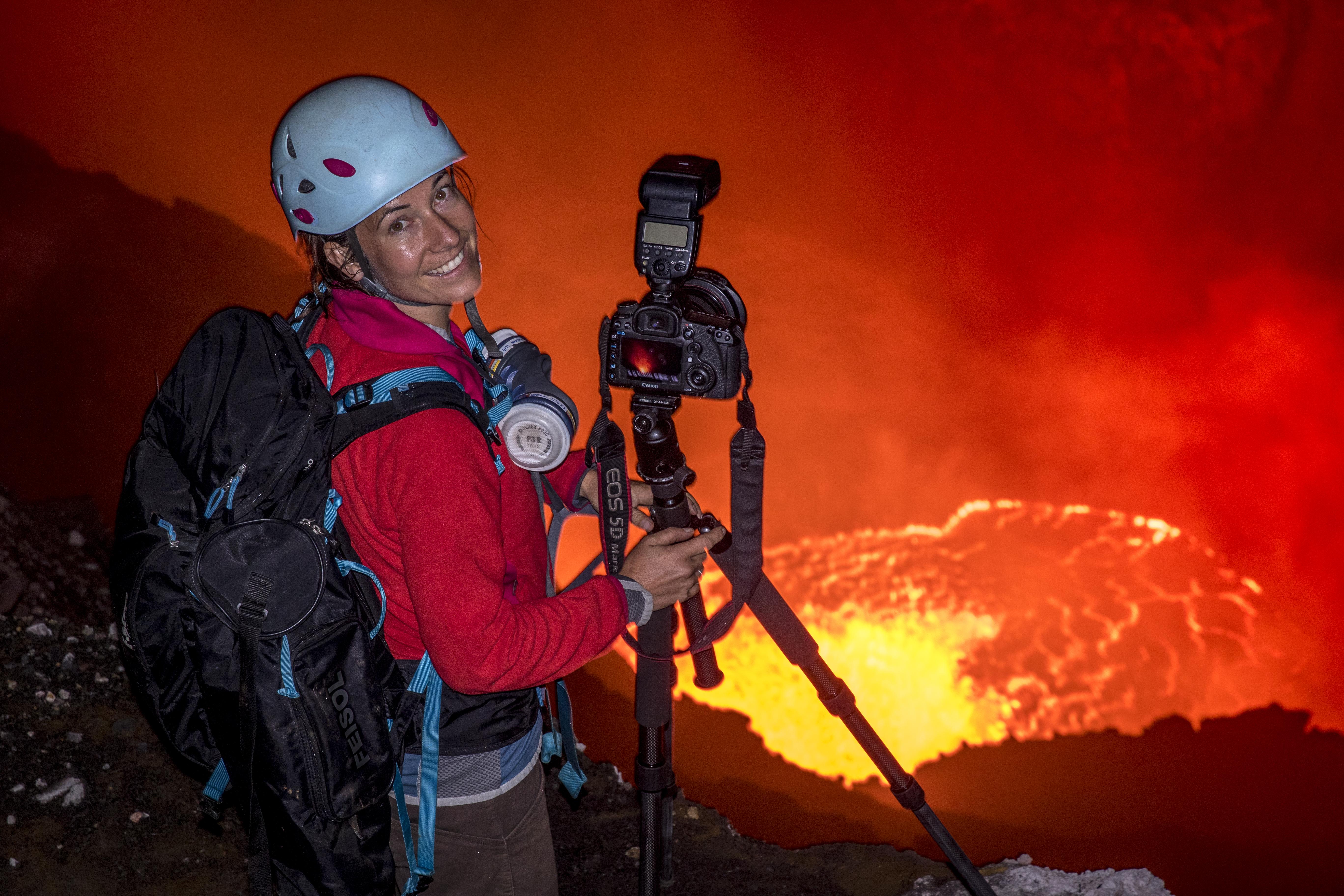 Vulkan- und Explosionsfotografie mit Ulla Lohmann