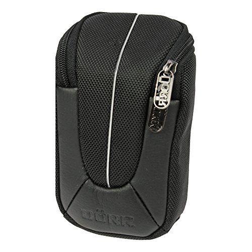 Yuma M Kameratasche schwarz/silber